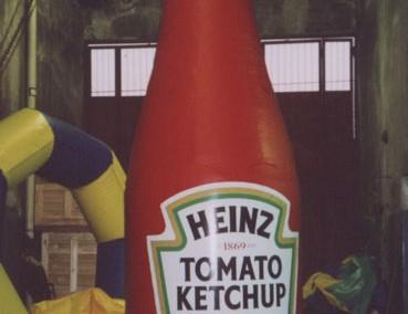 Envase Ketchup (Heinz)