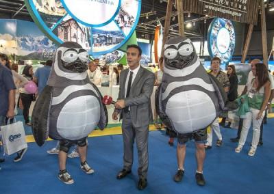 Disfraces de Pingüino (Gobierno Chubut)